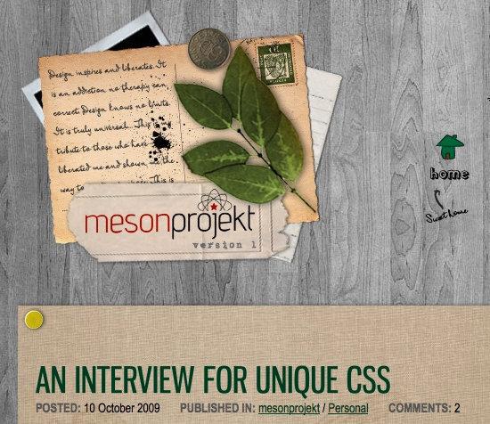 Meson Projekt Blog