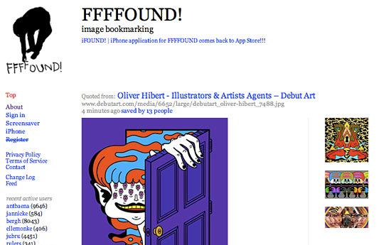Перейти на FFFFound