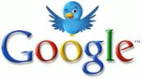 Социальные рекомендации Twitter в Google