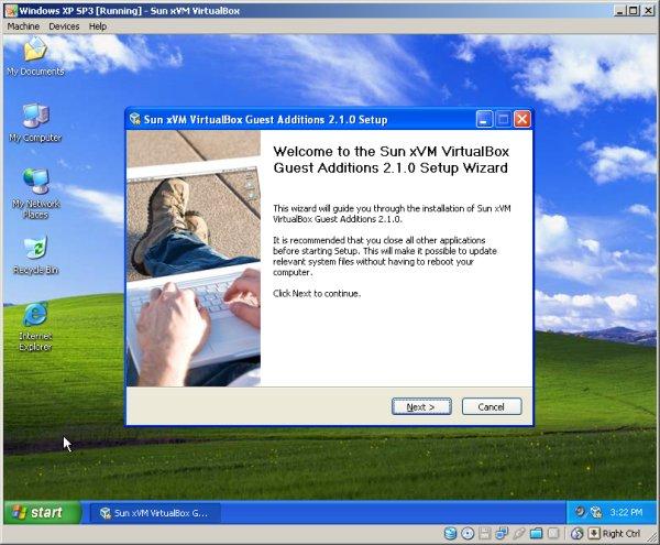 VirtualBox расшариваем папку через vboxsvr